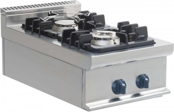 Saro 423-1000 - Gasherd 2 Flammen Tischgerät Modell E7/KUPG2BB
