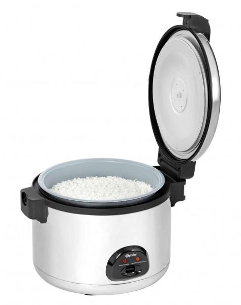 Bartscher 150529 - Reiskocher geoeffnet mit Reis