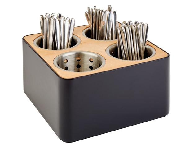 Besteckbehälter inkl. 4 Köcher
