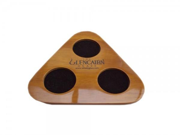 Glencairn Whisky Glas - Tasting Set mit Krug - Hochwertiges Holztablett