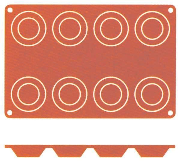 Contacto 6632/068 - Silikon-Backmatte Tartelett, 6 cm