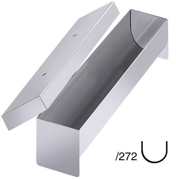 Contacto 887/272 - Pastetenform halbrund, 27x5x5 cm, mit Deckel