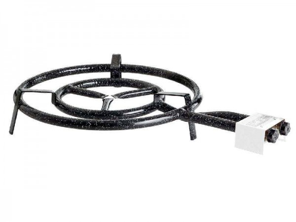 Paella World 1504 - 2-Ring-Gasbrenner, Ø 50 cm, 14,1 kW, 30 mbar