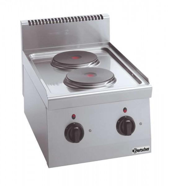 Bartscher 131722 - 2 Platten Elektroherd Serie 600