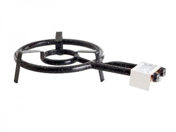 Paella World 1502 - 2-Ring-Gasbrenner, Ø 35 cm, 9,0 kW, 30 mbar