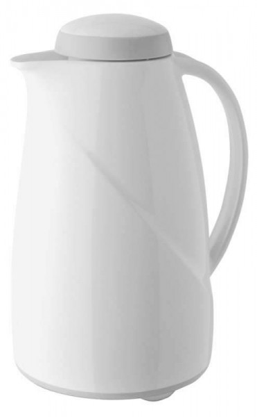 Helios 2945-001 - Isolierkanne Wave Maxi - 1,5 l - Weiß