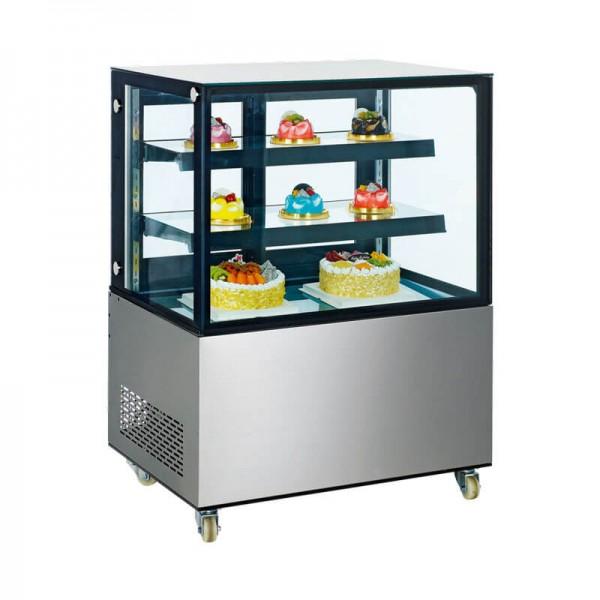 KBS 9160270 - Tortenvitrine Kuchenvitrine Cube 270 Liter