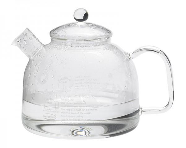 Trendglas Jena 111007 - Wasserkocher mit Glasdeckel 1,75 Liter