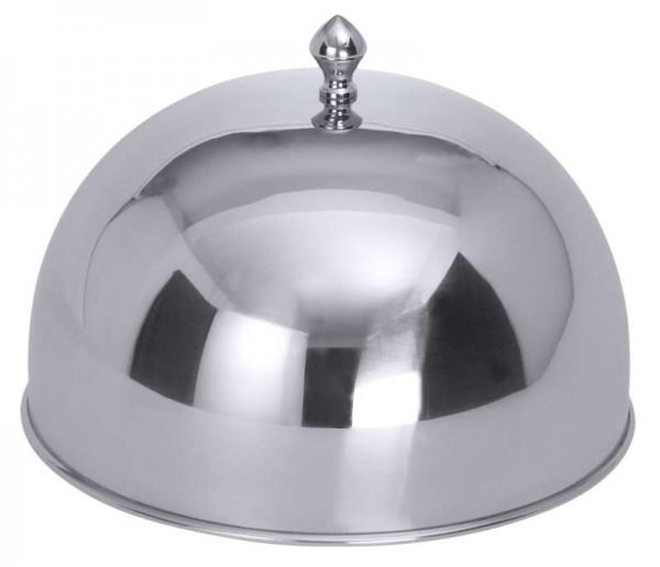 Contacto 6880/240 - Speiseglocke 24 cm mit Edelstahl-Knopfgriff