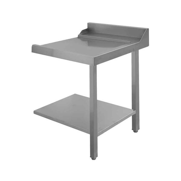 Zulauftisch oder Ablauftisch rechts B700 Spritzschutz