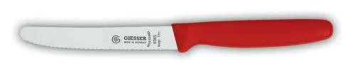 Giesser 8365-wsp-11 - Allzweckmesser Wellenschliff spezial - 11 cm - VPE 6 Stück