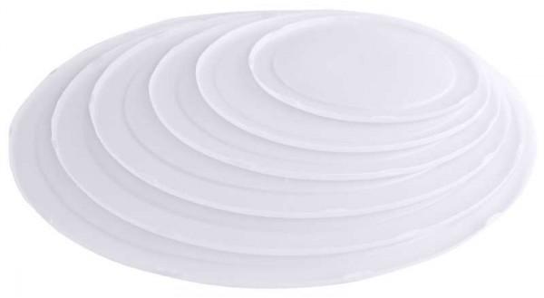 Contacto 1341/280 - Deckel 32,5 cm, weiß zur Rührschüssel 6 l