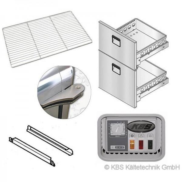 KBS 809392 -  Wandkühlregal BALI Pro Rollensatz