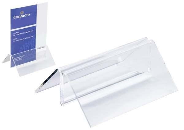 Contacto 6771/105 - Menükartenständer Menükartenständer Acryl