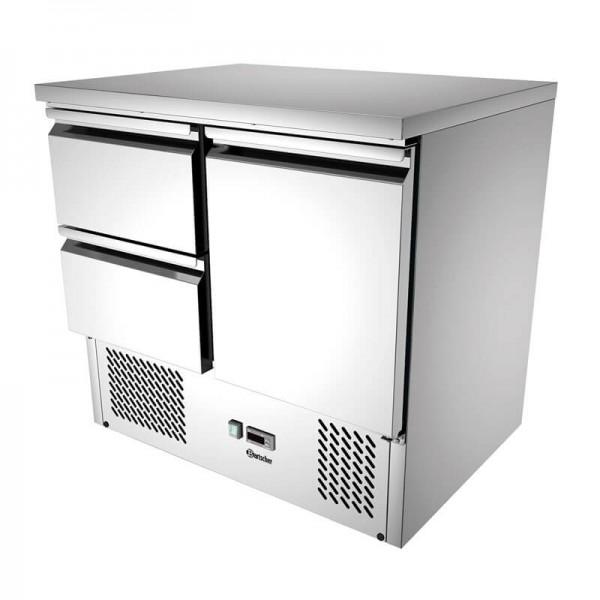 Bartscher 110157 - Gastro Kühltisch Mini 900T1S2