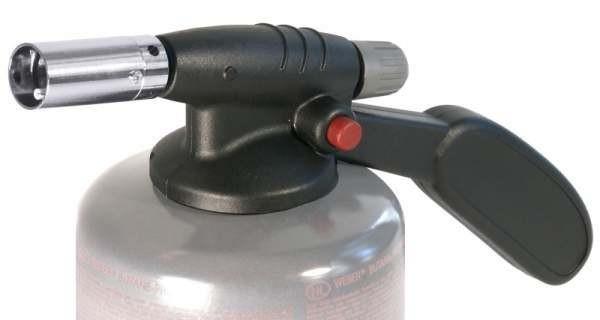 Contacto 7541/250 - Gasbrenner/Karamellisierer als Aufsatz für Gasflaschen EU Schraubgewinde UNEF 7/