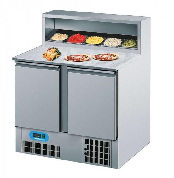 Chromonorm AKTP079500EV - Pizzakühltisch 2 Türen