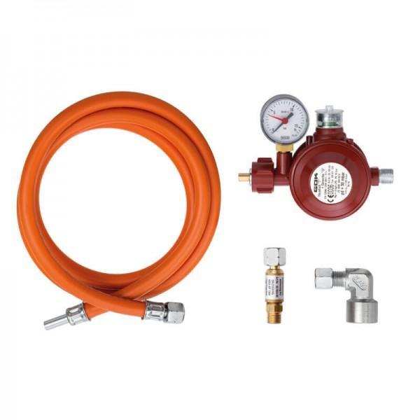 Gas Anschluss Set Gastro Innen-und Außenbereich