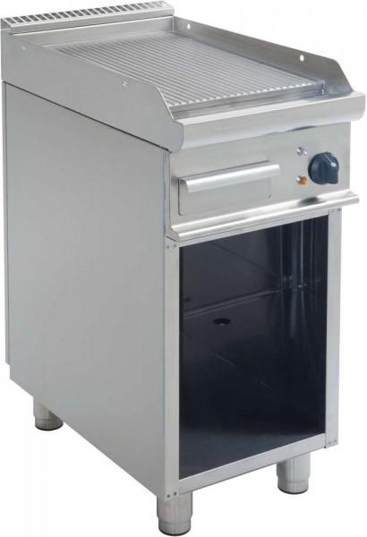 Saro 423-1240 - Elektro-Griddleplatte mit offenem Unterbau Modell E7/KTE1BAR