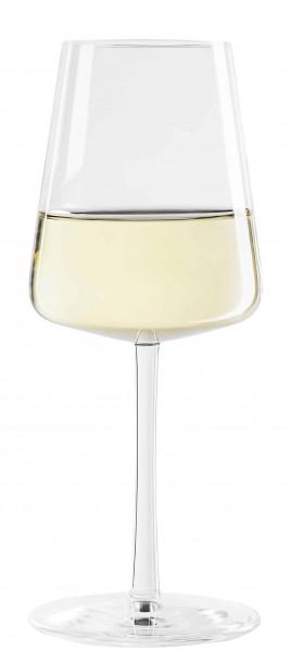 Stölzle 159 00 02 - Weißweinkelch Weißweingläser Power, befüllt