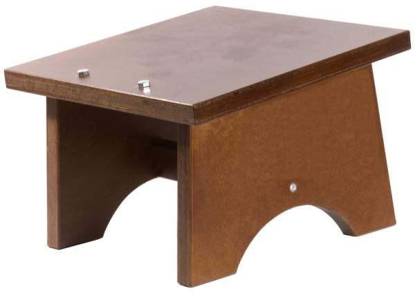 Contacto 8089/350 - Fassbierbock, dunkel gebeizt 35 x 35 x 25 cm Massivholz