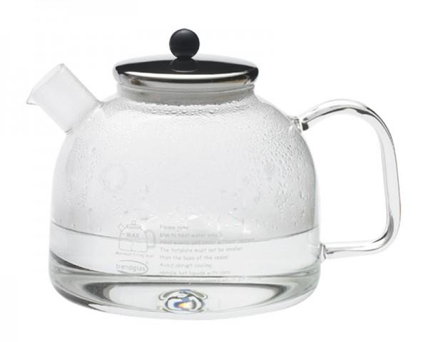 Trendglas Jena 111014 - Wasserkocher mit Edelstahldeckel 1,75 Liter