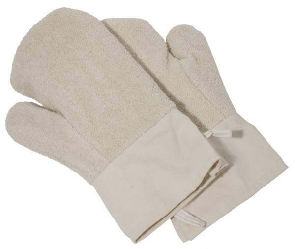 Contacto 6543/400 - Paar Backhandschuhe 40 cm mit langer Stulpe