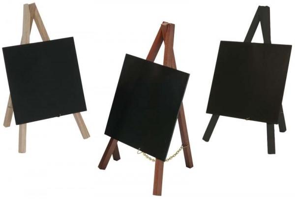 Contacto 7689/245 - Tischstaffelei, schwarz Packung mit 3 Stück