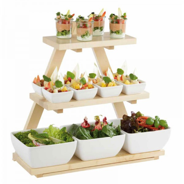 APS 13966 - Buffetgestell TRIANGLE kleines Regal Buffet