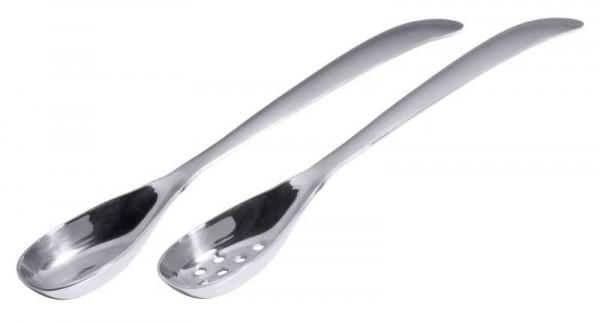 Contacto 1272/171 - Olivenlöffel 17cm, perforiert