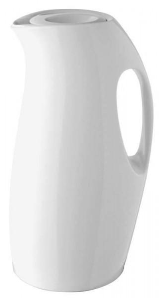 Isolierkanne Ciento - 0,9 l - Weiß