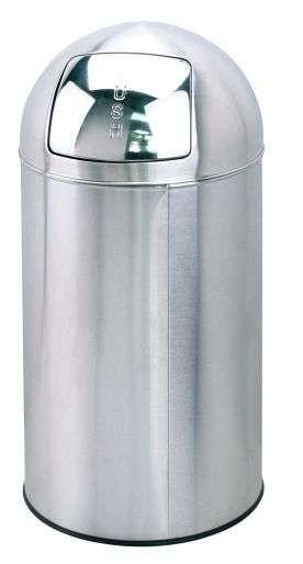 Saro 399-1024 - Abfalleimer mit Push-Deckel Modell AD 253