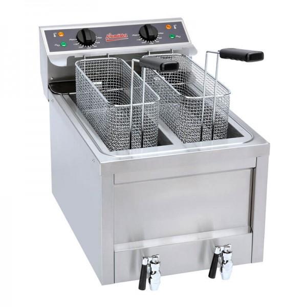Neumärker 05-50141 - Fritteuse Dual 2x 8 Liter
