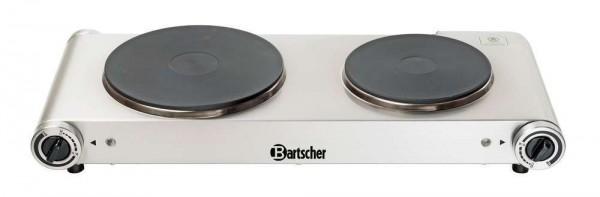 Elektro Doppelkochplatte Chromnickelstahl Bartscher 150310 Elektro Kocher   X