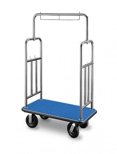 Contacto Kleidertransportwagen Hotelwagen blau