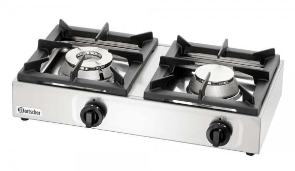 Bartscher 1058503 - 2-Flammen Gas-Tischkocher