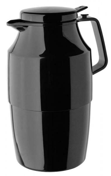 Helios 3156-002 - Isolierkanne Tea Boy Push - 2,0 l - Schwarz
