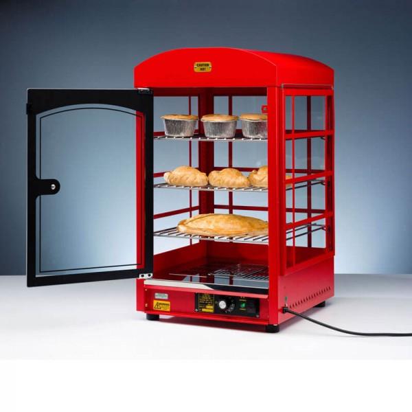 Neumärker-05-51245 Warmhaltevitrine Phone Box geöffnete Tür