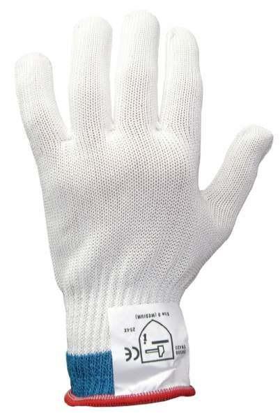 Contacto 6526/007 - Schnittschutzhandschuh mittelschwer, Größe S, einzeln (weiß)
