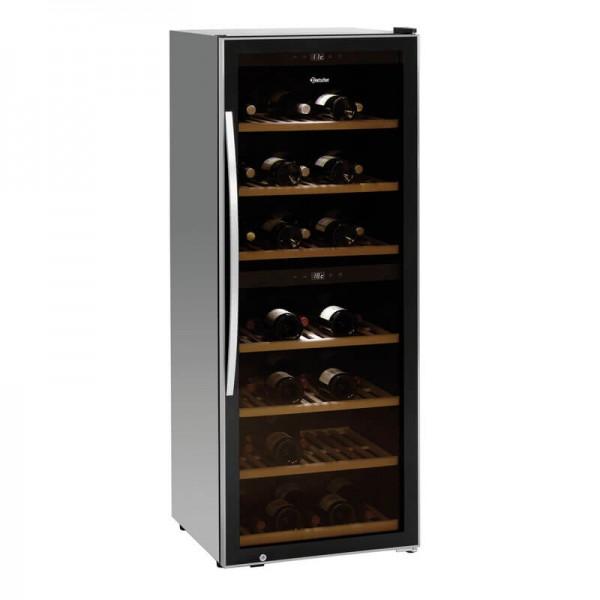 Bartscher 700131 - Weinkühlschrank 2Z 126 Flaschen - mit Inhalt