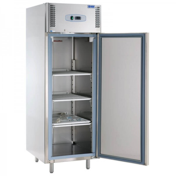 KBS 315303 - Edelstahl Gewerbekühlschrank KU 738 ECO Kühlschrank - geöffnete Tür