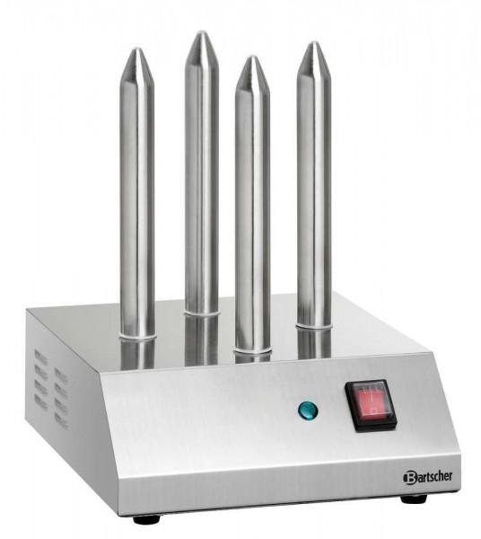 Bartscher A120409 - Hot Dog Spießtoaster T4 mit 4 Toaststangen