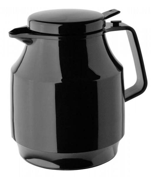 Helios 3154-002 - Isolierkanne Tea Boy Push - 1,0 l - Schwarz