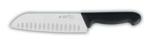 Giesser 8269-wwlk-18 - Asiatisches Santoku Kochmesser mit Kullenschliff - 18 cm