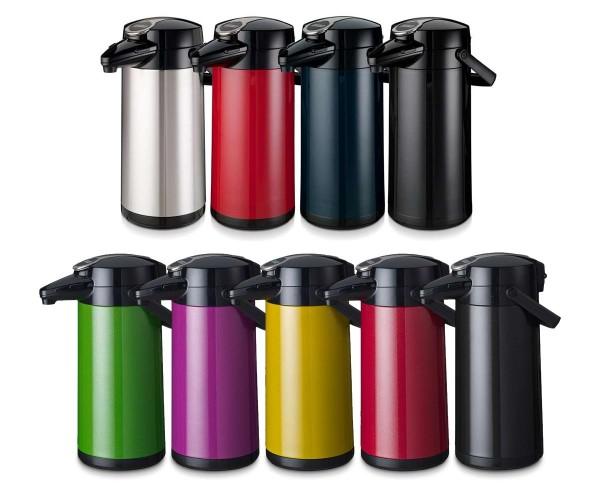 Airpot Furento - Pummpkanne, Isolierkanne, Kaffeekanne, Kanne - Inhalt 2,2 Liter