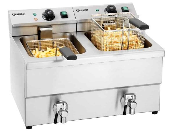 Bartscher A150407 - Gastro Fritteuse mit Pommes