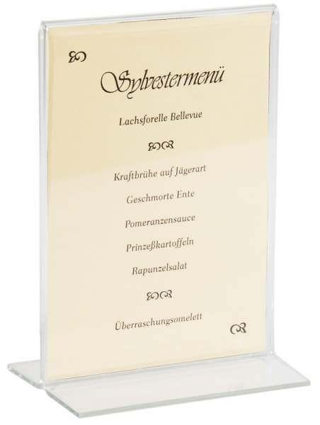 Contacto 6781/150 - Acryl Kartenhalter 21x15cm A5