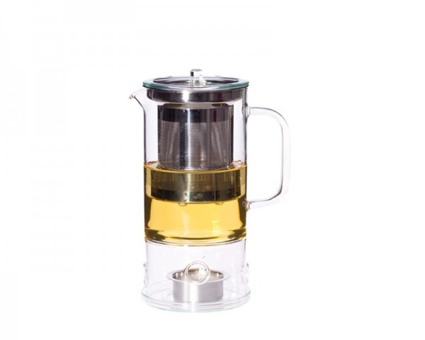 Trendglas Jena 116002 - Teekanne SIGN 0,6l mit integriertem Teewärmer