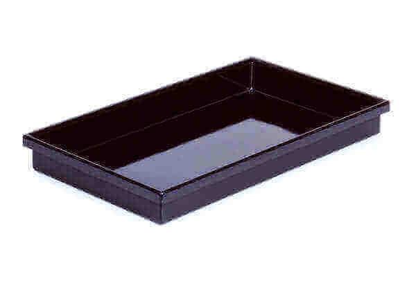 APS Polystyrolwanne GN 1/1 schwarz
