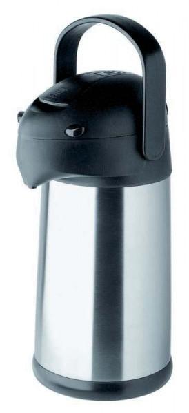 Helios 8207 - Pumpkanne Pipe - 2,5 l - Edelstahl